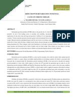 16.App Intrauterine Growth Retardation Potential Cause of Chronic Disease