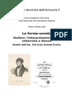 Giuliani, analisi op. 150