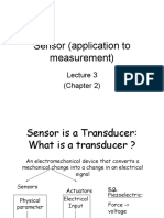 Lecture03 Sensors and Its Applications