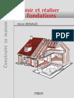 Choisir Et Réaliser Les Fondations