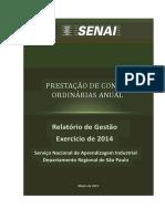 SENAI Relatorio de Gestao 2014