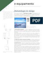 Design de Equipamento