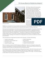 Putnam Development Project Sheet_June 30 2016 Copy
