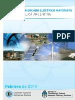 Mercado Energía Eléctrica Argentina 2015