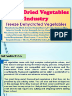 Freeze Dried Vegetables industry, Freeze Dehydrated Vegetables Manufacturing Plant, Detailed Project Report, Profile, Business Plan, Industry Trends, Market Research, Survey, Manufacturing Process, Machinery, Raw Materials, Feasibility Study, Investment Opportunities, Cost and Revenue, Plant Economics, Production Schedule, Working Capital Requirement, Plant Layout, Process Flow Sheet, Cost of Project, Projected Balance Sheets, Profitability Ratios, Break Even Analysis