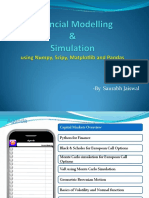 Financial Modelling and Simulation