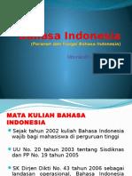 Bahasa Indonesia I