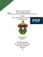 Manajemen SDM di Instalasi Rawat Inap RS