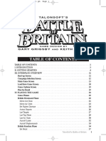 Battle of Britain Manual