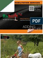 Rebuilt Prosthetic & orthotic  Catalogue