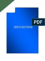 Genetic a Bacterian A