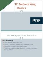 TCP-IP Networking Basics