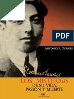 L. TURNES, Antonio. Florencio Sanchez, Los Misterios de Su Vida, Pasión y Muerte.