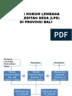 Dasar Hukum Lembaga Perkreditan Desa (Lpd)