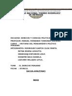 El Derecho Peruano