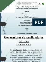 Generadores de Analizadores Léxicos