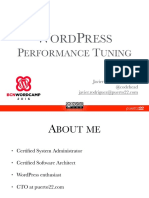 WordPress Performance Tuning