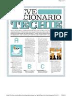 """Diccionario abreviado para """"Techies"""""""