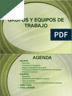 Dinamica de Grupos y Equipos de Trabajo