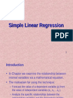 Simple Regression