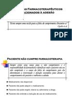 Problemas Farmacoterapêuticos Relacionados À Adesão - Assistência Farmacêutica - Patrícia Sodré Araújo - UNIME
