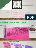 EL TURISMO A TRAVÉS DE LA HISTORIA.