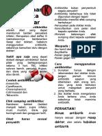 217153736 Leaflet Penggunaan Antibiotika Yang Benar