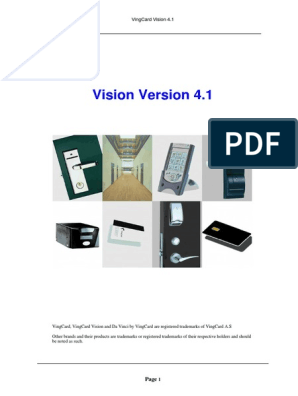 Vision-v4 1 Manual pdf | Windows Registry | Microsoft Windows