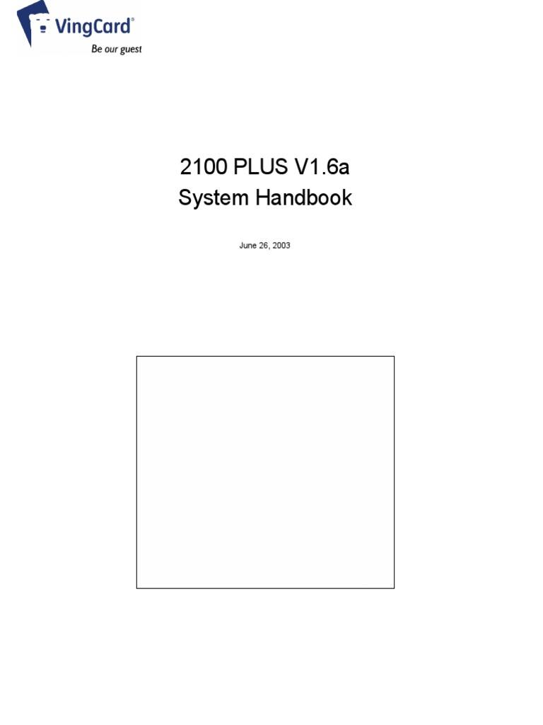 233016178 vingcard manual pdf electromagnetic interference elevator rh es scribd com