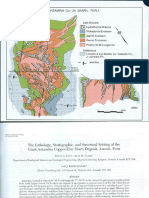 The Lithologic Stratigraphic and Structural Setting of the Giant Antamina Coopper Zinc Skarn Depositep Ancash Peru