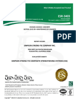 Code Report Esr3403