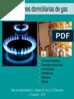 Instalaciones Domiciliarias de Gas 2014