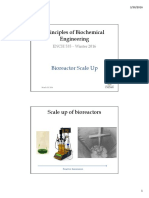 Bioreactor scale-up