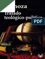 Spinoza, Tratado Teologico-politico