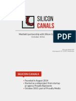 Silicon Canals Mediakit Q4 2016