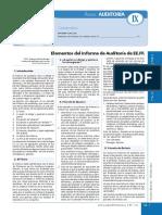 Elementos Informe Auditoria
