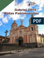 San Gabriel Rutas Patrimoniales