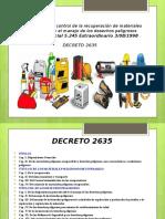 DECRETO 2635