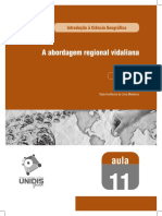 Abordagem Regional Vidalina 11