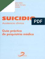 Suicidio (Asistencia Clìnica) _guìa Pràctica de Psiquiatrìa Mèdica_ Josè Carlos Mingote Adàn; Miguel Àngel Jimènez Arriero; Ricardo Osorio Suàrez; Tomàs Palomo (2004)
