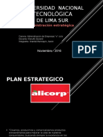 Plan Estrategico Alicorp