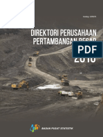 Direktori Perusahaan Pertambangan Besar 2016