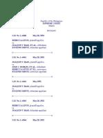 Report in Ltd Cases