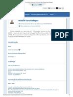 Currículo Do Sistema de Currículos Lattes (Ronald Vera Gallegos)