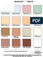 Manual Paleta de Colores INAH