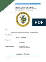 Informe Técnico Proveedores de La Ultima Milla