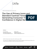Working Paper on Privacy Icons