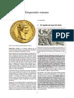 Emperador de Roma - Sumo pontífice