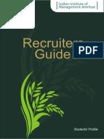 Recruiters Guide