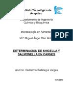 8-Determinacion de Shigella y Salmonella en Carnes